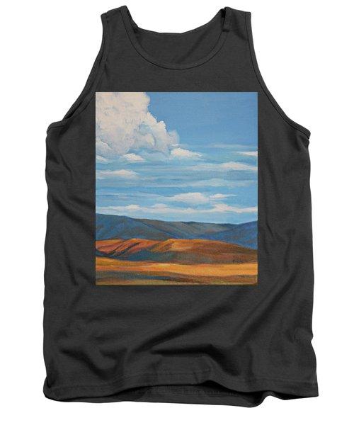 Early Summer Blue Hills Tank Top