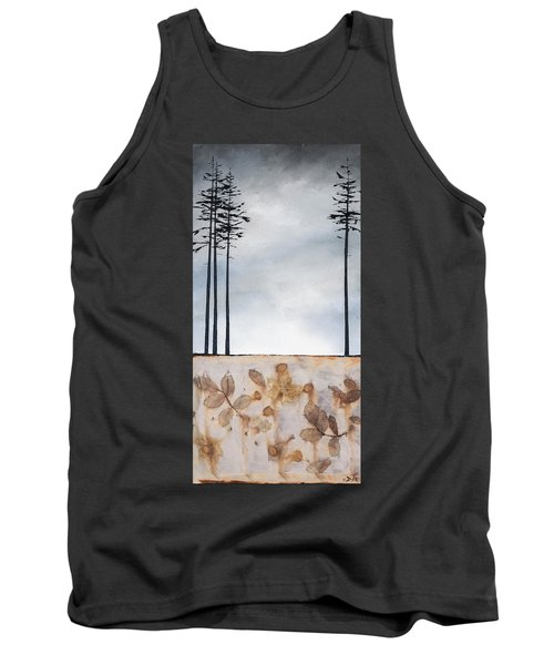 Earth And Sky Tank Top by Carolyn Doe