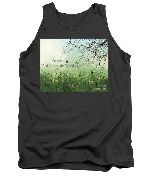 Earth Day 2016 Tank Top by Trilby Cole