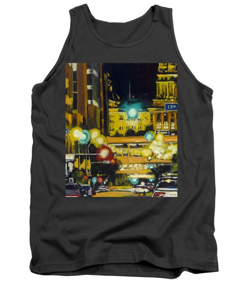 East 13th And Locust St Des Moines Tank Top