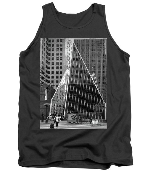 East 42nd Street, New York City  -17663-bw Tank Top