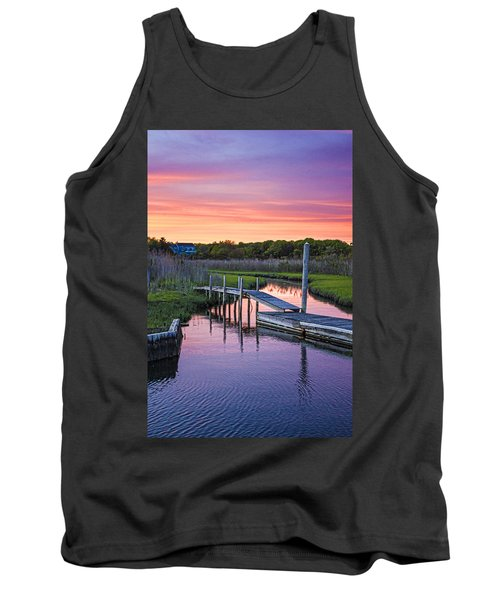 East Moriches Sunset Tank Top
