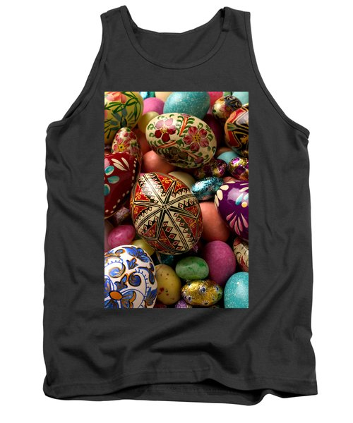 Easter Eggs Tank Top