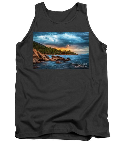 Eastern Glow At Sunset Tank Top