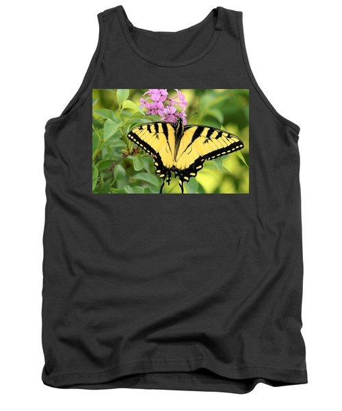 Eastern Tiger Swallowtail Butterfly Tank Top by Sheila Brown