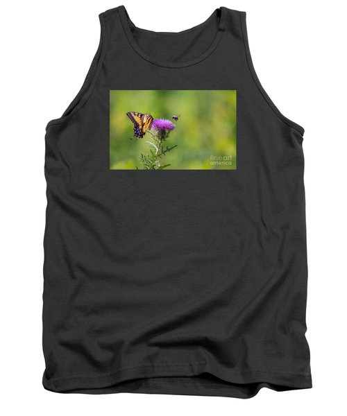 Eastern Tiger Swallowtail Tank Top by Rima Biswas