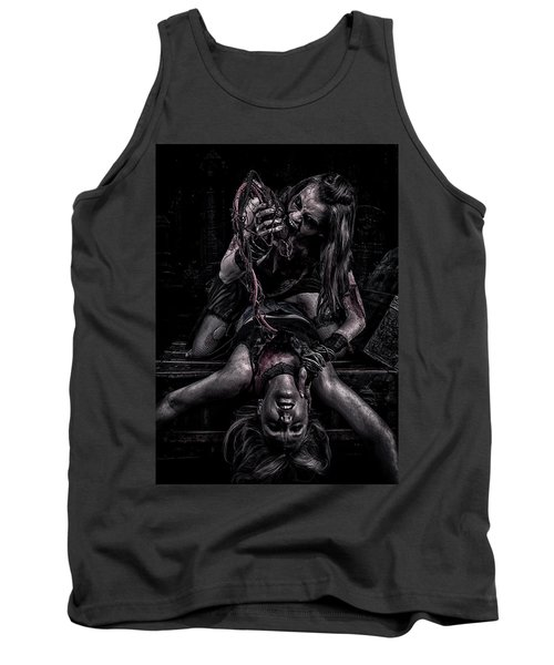 Tank Top featuring the photograph Eat Your Heart Out by Wade Aiken