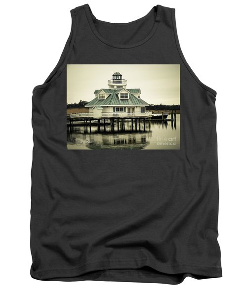 Eating On The River Tank Top by Melissa Messick