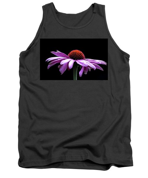 Echinacea Tank Top by Sheldon Bilsker