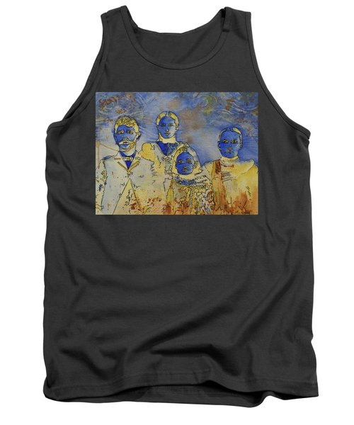 Tank Top featuring the painting Ectoplasma 2 by Cynthia Powell