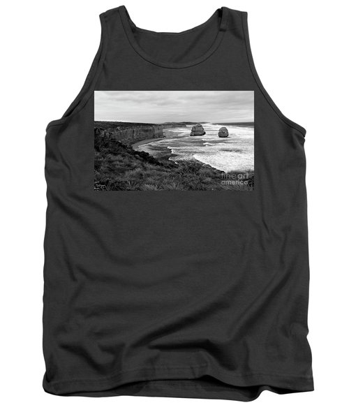 Edge Of A Continent Bw Tank Top