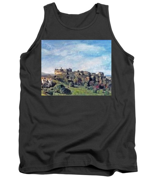 Edinburgh Castle Bright Tank Top