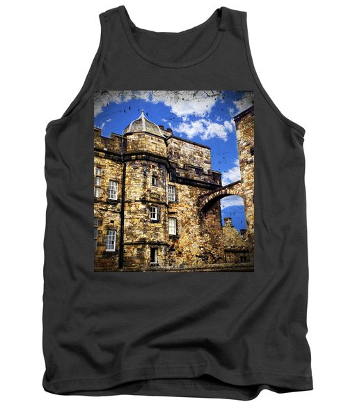 Edinburgh Castle Tank Top by Judi Saunders