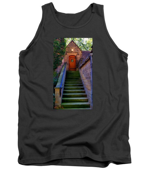 Tank Top featuring the photograph Edsel Ford Mansion by Michael Rucker