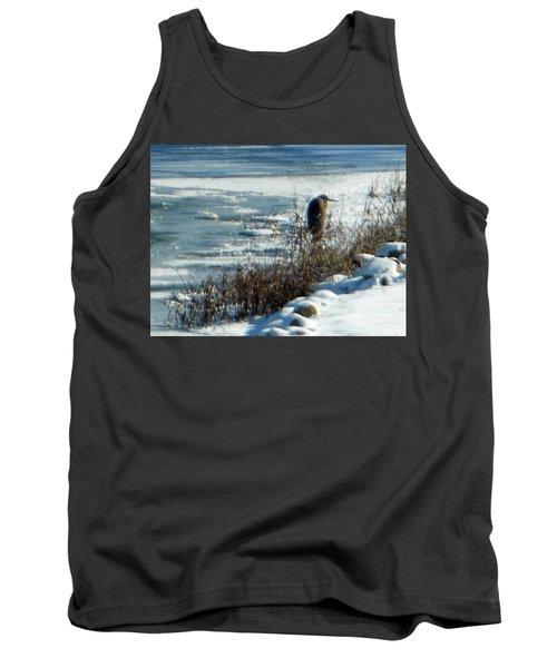 Egret Frozen Lake Tank Top