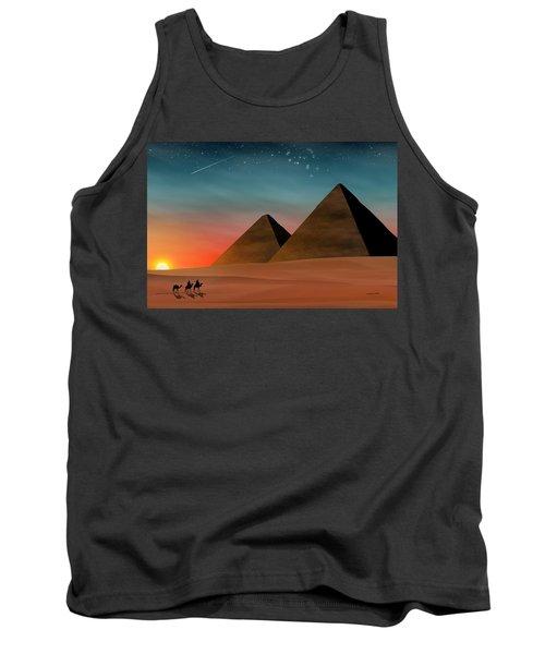 Egyptian Pyramids Tank Top