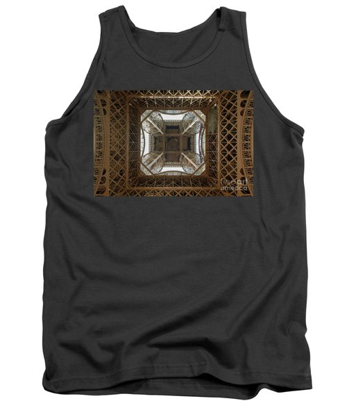 Eiffel Tower Abstract Tank Top
