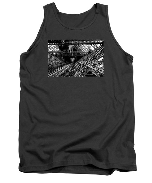 Eiffel Tower Tank Top by M G Whittingham