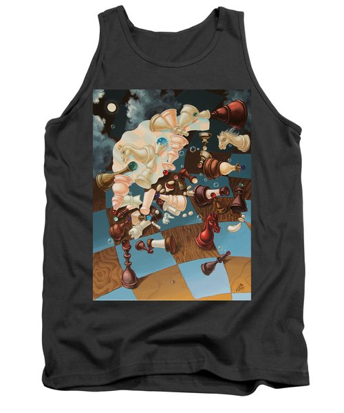 Einstein, Who Did Not Know How To Play Chess. Tank Top