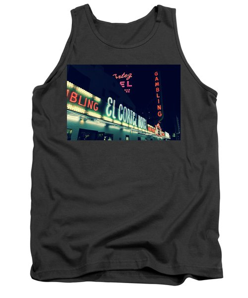 El Cortez Hotel At Night Tank Top