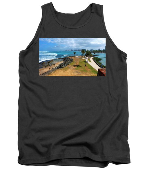 Tank Top featuring the photograph El Escambron by Ricardo J Ruiz de Porras