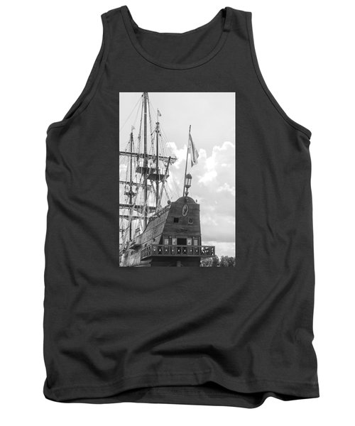 Tank Top featuring the photograph El Galeon by Bob Decker