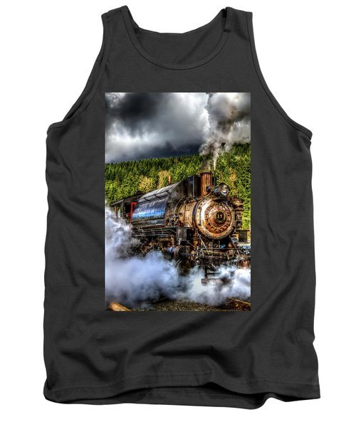 Elbe Steam Engine #17 Hdr Tank Top