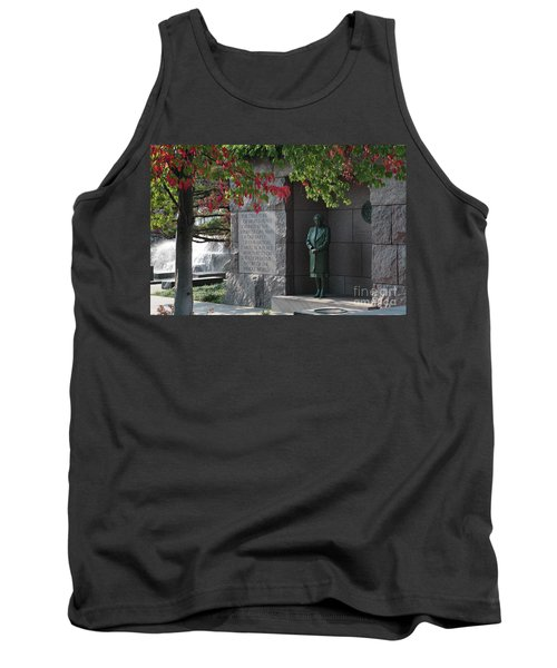 Eleanor's Alcove At The Fdr Memorial In Washington Dc Tank Top