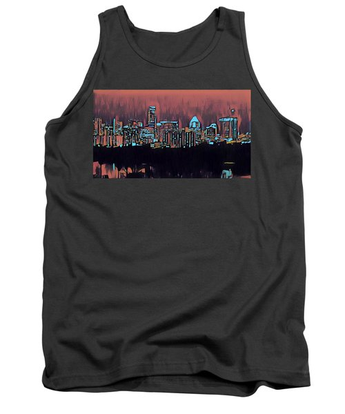 Electric Austin At Dusk Tank Top
