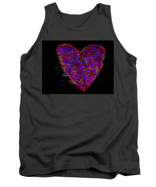 Electric Heart Tank Top