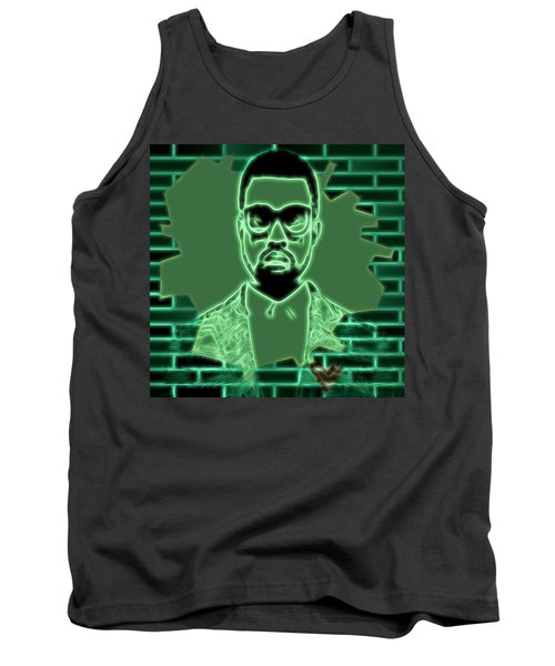 Electric Kanye West Graphic Tank Top