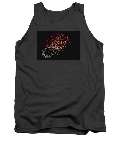 Tank Top featuring the photograph Electric Light by Steven Richardson