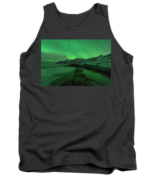 Tank Top featuring the photograph Electric Night by Alex Lapidus