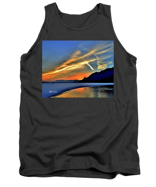 Electric Sunrise Tank Top