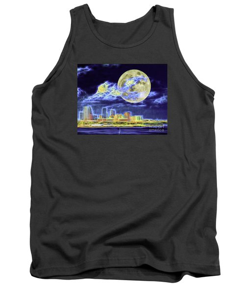 Electric Tampa Tank Top by Ken Frischkorn
