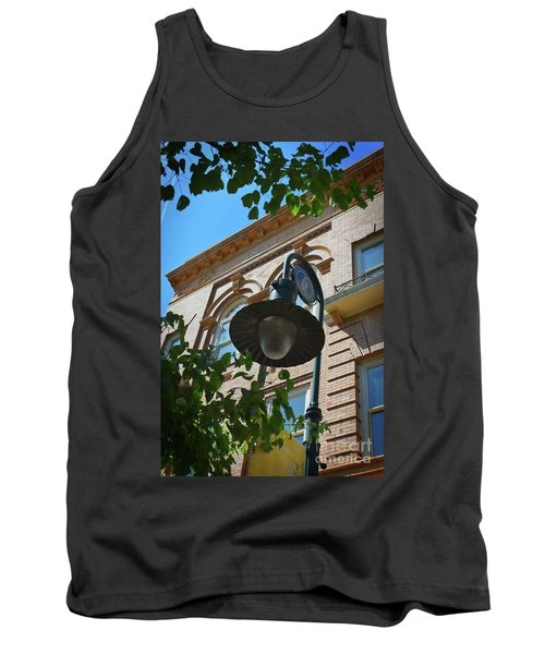 Tank Top featuring the photograph Electrifying  Architecture by Skip Willits