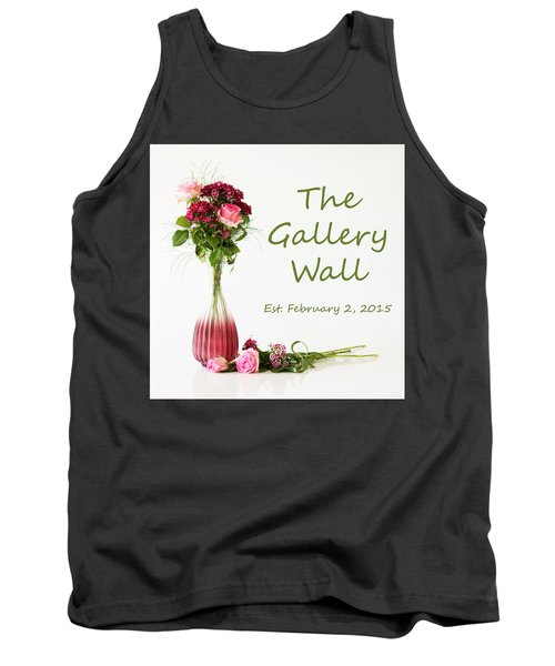 Tank Top featuring the photograph Elegance-the Gallery Wall Logo by Wendy Wilton