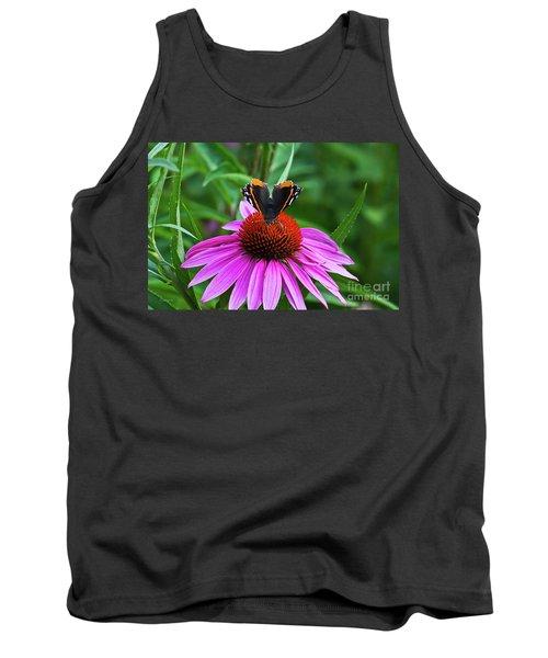 Elegant Butterfly Tank Top