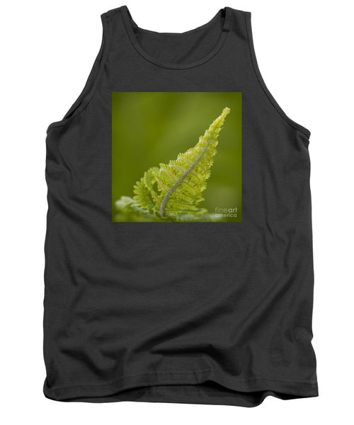 Elegant Fern. Tank Top by Clare Bambers