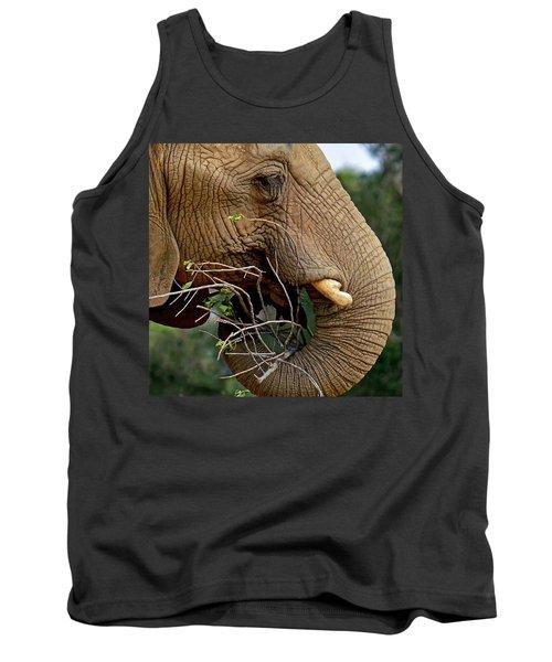 Elephant Curl Tank Top