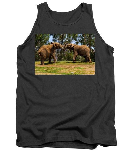 Elephant Play 3 Tank Top