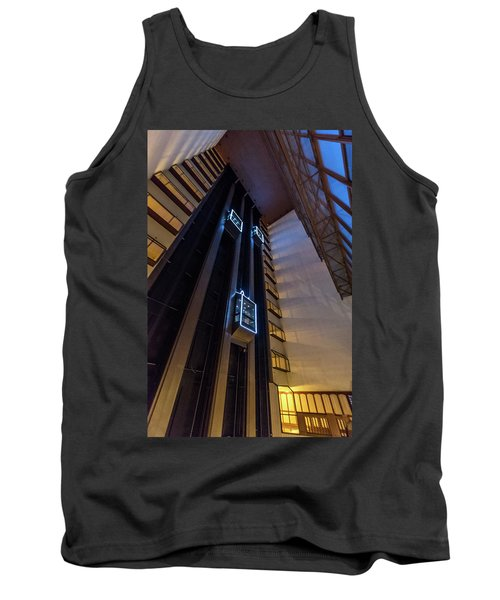 Tank Top featuring the photograph Elevated by Randy Scherkenbach