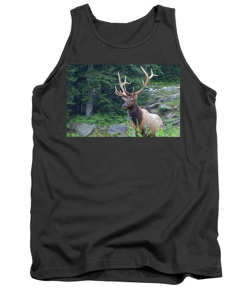 Tank Top featuring the photograph Elk 4 by Gary Lengyel