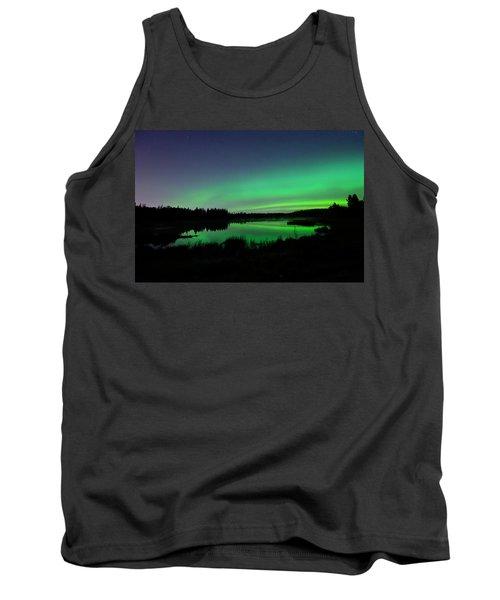 Elk Island Aurora Reflections Tank Top