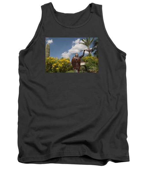 Elk Woman Walking Tank Top