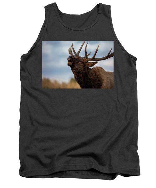 Elk's Screem Tank Top by Edgars Erglis