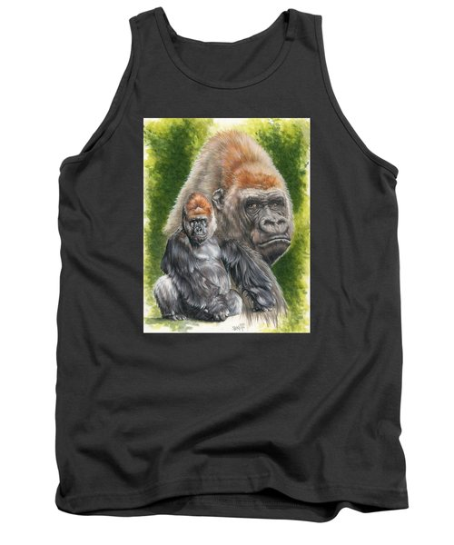 Tank Top featuring the painting Eloquent by Barbara Keith