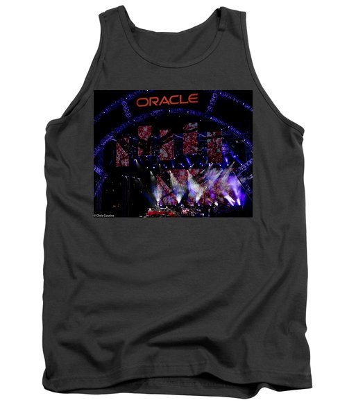 Elton John At Oracle Open World In 2015 Tank Top