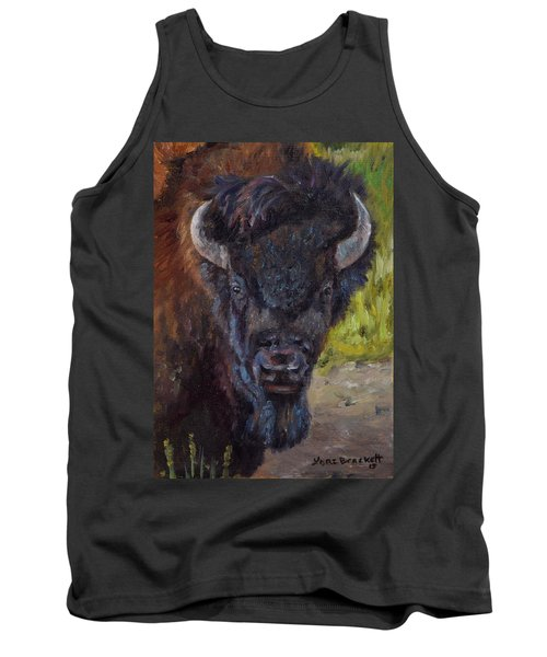 Elvis The Bison Tank Top
