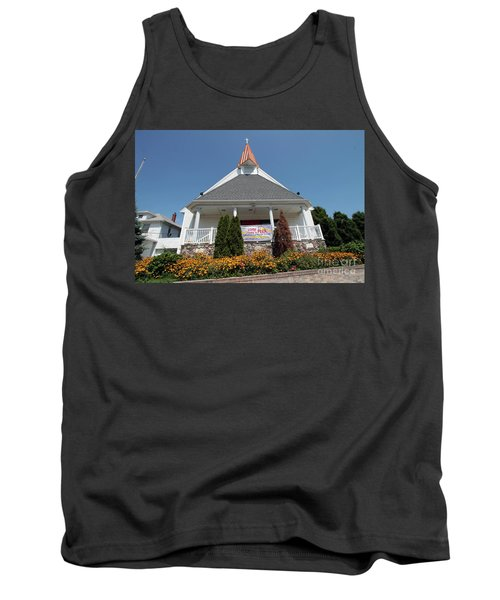 Emanuel Lutheran Church  Patchogue Ny Tank Top